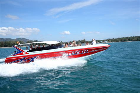 speed boat to phi phi island phi phi island tour by speedboat gembira tour phuket