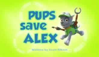 pups save alex paw patrol wiki