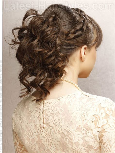 prom hairstyles for medium length hair with braids prom hairstyles for medium length hair pictures and how to s