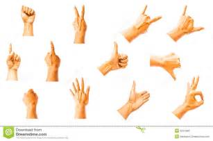 Two of hand signals clipart clipart kid