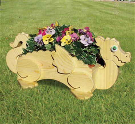 planter woodworking plans dragon flower pot planter wood