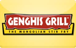 Genghis Grill Gift Card - buy genghis grill gift cards raise