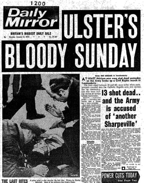 sunday news bloody sunday priest who bravely waved his white