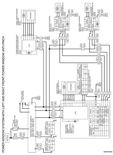Nissan Altima 2007-2012 Service Manual: Front power window
