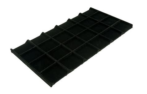 velvet jewelry tray insert standard size 4x6