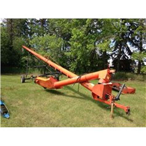 swing away auger for sale brandt 10 quot x 70 swing away auger prodaniuk auctions