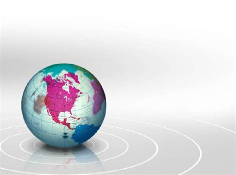 Globe Geography Free Ppt Backgrounds For Your Powerpoint Templates Globe Powerpoint Template