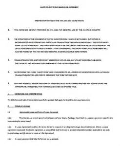 Terms Of Agreement Template by 13 Term Rental Agreement Templates Free Sle