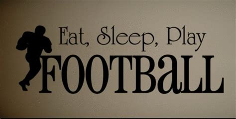 football wall quotes quotesgram