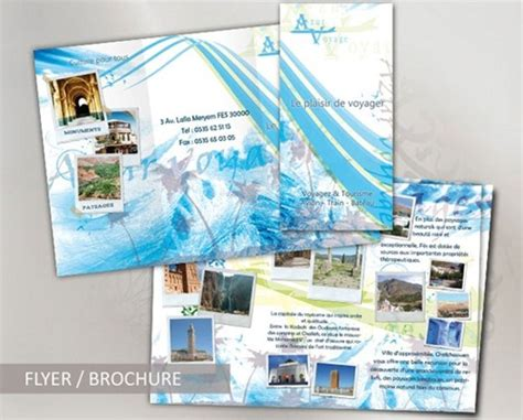 travel brochure template free download 35 beautiful travel