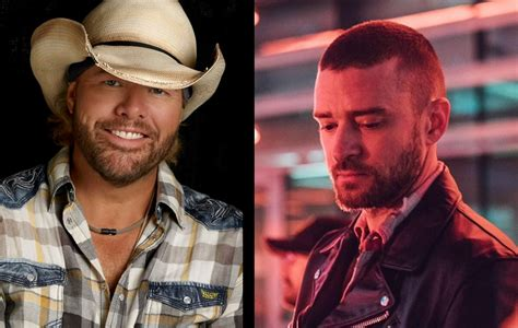 toby keith fan toby keith also influenced justin timberlake s album