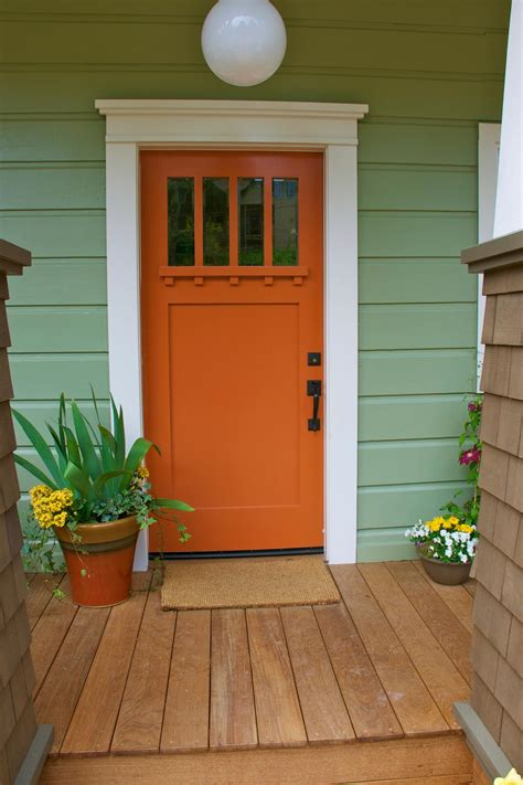 colored front doors pumpkin colored front doors front door freak
