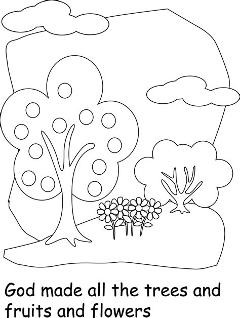 Galerry coloring pages god made animals