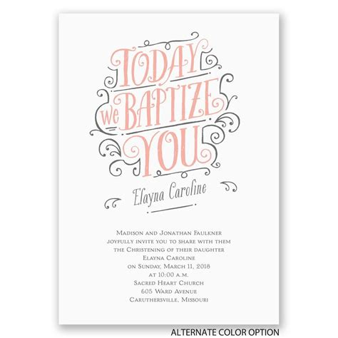 card invitations special day celebrations special day baptism invitation invitations by