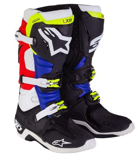 tech 10 motocross boots alpinestars tech 10 barcia boots revzilla