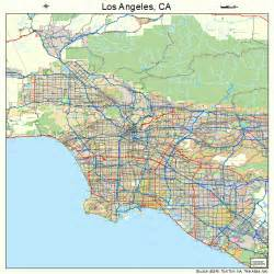 los angeles california map 0644000
