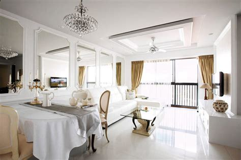 home and decor singapore hdb flat with an effortlessly stylish classical look