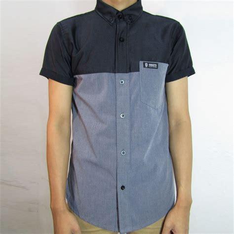 Kemeja Pria Miller Black Xl Pakaian Pria Kemeja Slim Fit Warna Hit fartiz guagitu clothing