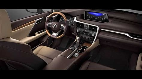 lexus car 2016 interior 2016 lexus rx 350 interior youtube