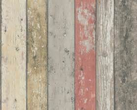 realistic shabby chic coloured distressed wood panel effect wallpaper ebay