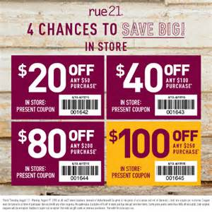 rue21 coupons 2016 2017 best cars review