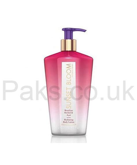 Skin Secret Lotion Parfume Skin Fragrance Lo Mura victorias secret hydrating lotion sunset bloom