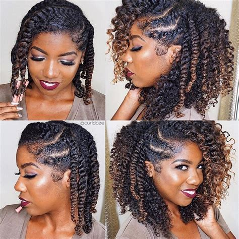 protective hairstyles for long natural hair how to loose strand twist for long or short hair