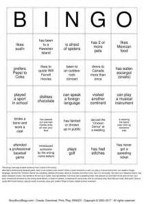 Find Someone Who Template by Find Someone Who Bingo Cards To Print And