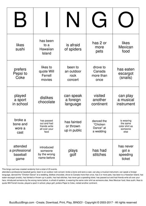 Some Search For A Find Someone Who Bingo Cards To Print And Customize