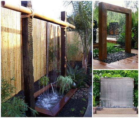 backyard water wall water wall design diy backyard water wall back yard water