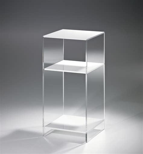 nachttisch las vegas h 246 he 55 cm acrylglas wei 223 - Nachttisch 55 Cm