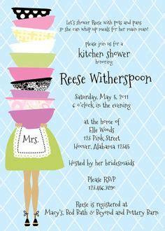 Bridal Shower Invitation Ideas by Printable Kitchen Shower Invitations Bridal Shower