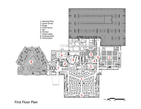 Floor Layout Plans gallery of black bear casino resort walsh bishop 18