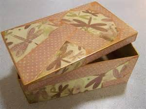 Decoupage A Box - decoupage sewing boxes finished tropical threads