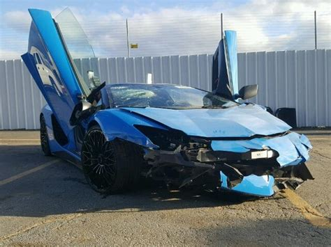 crashed lamborghini for sale 2017 lamborghini aventador sv for sale ga atlanta