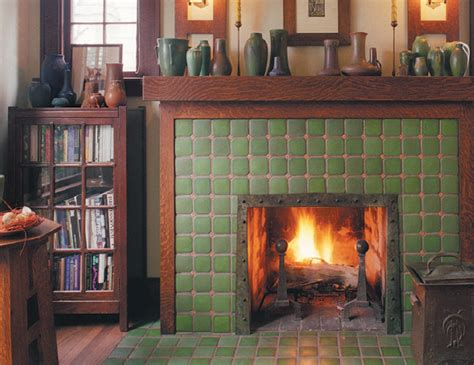 craftsman fireplace tile pratt and larson tile tile for your craftsman home