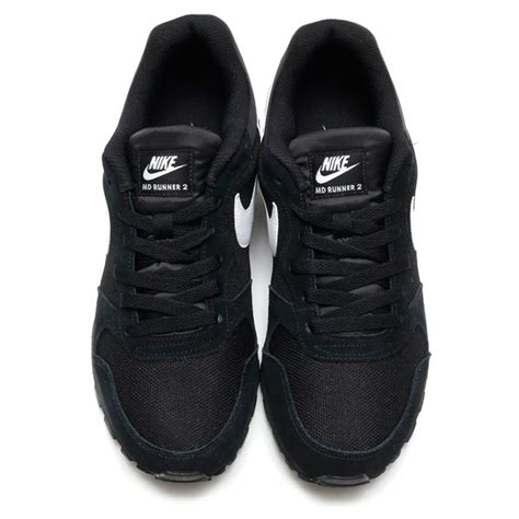 Nike Md Runner Black List White nike md runner 2 black white anthracite