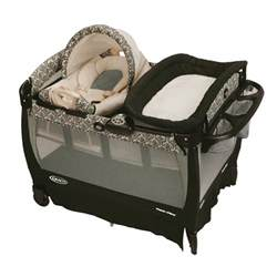 Pack N Play Changing Table Cover Graco Pack N Play Playard With Cuddle Cove Rocking Seat Rittenhouse Baby