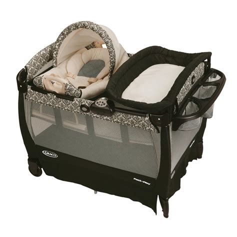 Bassinet N Seat Rocker graco pack n play playard with cuddle cove rocking seat rittenhouse baby