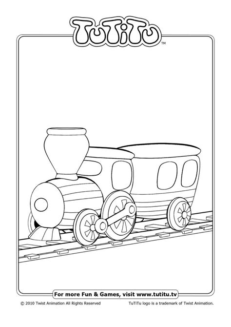 Free Coloring Pages Await in TuTiTu's Playground   games