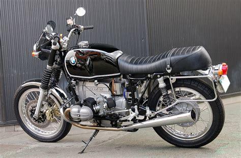 Motorrad Triumph Spr Che by C Est Ici Qu On Met Les Bien Molles Bmw Caf 233 Racer