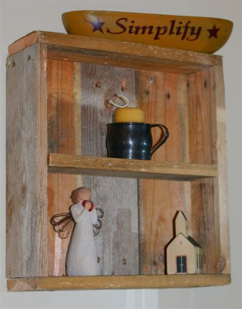 pallet shelf decorative items not for sale