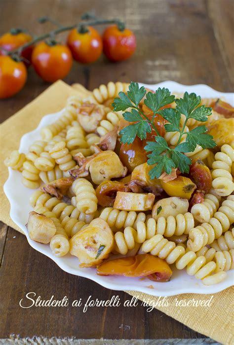 pasta veloce e semplice da cucinare pasta con polpo e pomodorini facile e veloce ricetta