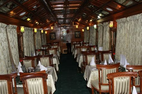 dining on wheels palace on wheels images picture gallery of luxury trains