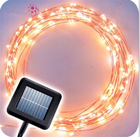 Wired Landscape Lighting Freeshipping Solar Copper Wire String Patio Lights