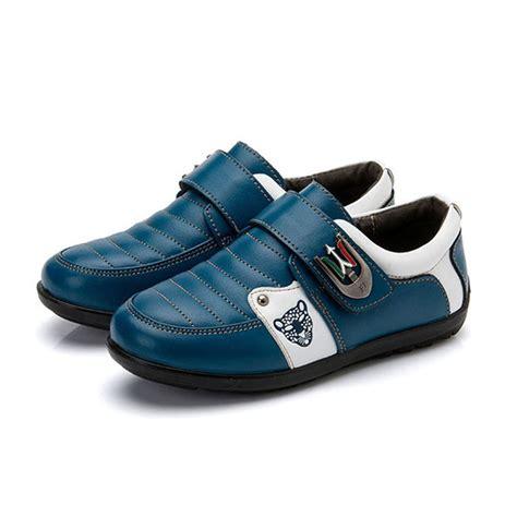 kitiin genuine leather boys casual shoes 2017 luxury