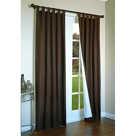 54 inch curtains and drapes buy thermalogic 174 weathermate 54 inch tab top window