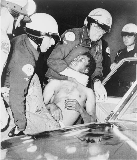 civil rights movement police brutality go islanders the watts riots