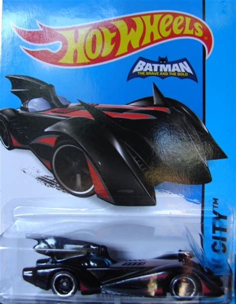 Batmobile The Brave Hw City Wheels Mattel Moc Toyriffic 2015 Wheels Brave And The Bold Variants