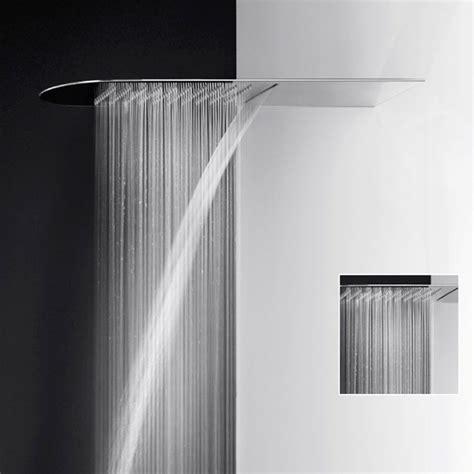 doccia gessi soffione doccia multifunzione pioggia cascata